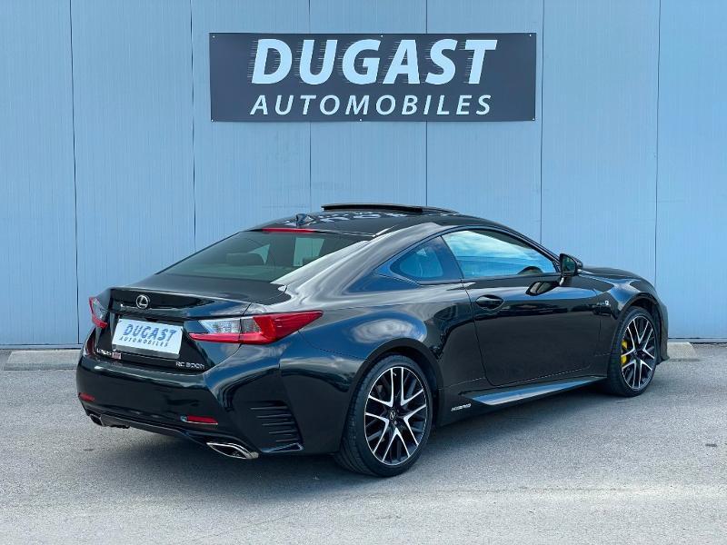 Photo 4 de l'offre de LEXUS RC 300h F SPORT Executive Black Edition à 36900€ chez Dugast automobiles