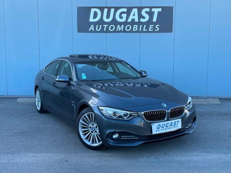Photo 1 de l'offre de BMW Serie 4 Gran Coupe 420dA 190ch Luxury à 26900€ chez Dugast automobiles