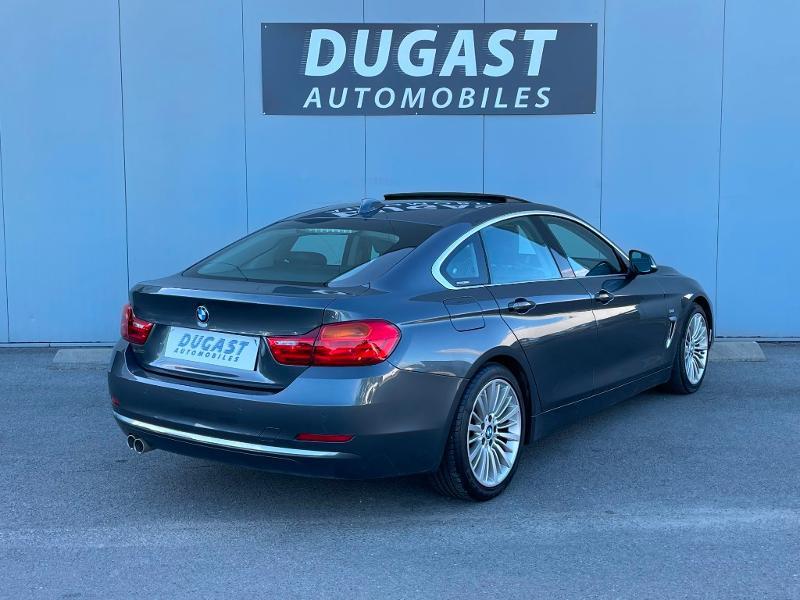 Photo 4 de l'offre de BMW Serie 4 Gran Coupe 420dA 190ch Luxury à 26900€ chez Dugast automobiles
