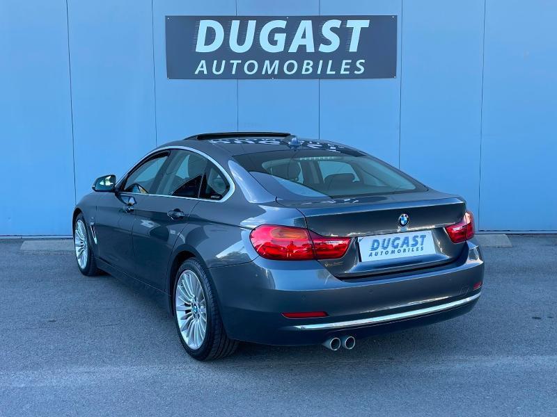 Photo 3 de l'offre de BMW Serie 4 Gran Coupe 420dA 190ch Luxury à 26900€ chez Dugast automobiles
