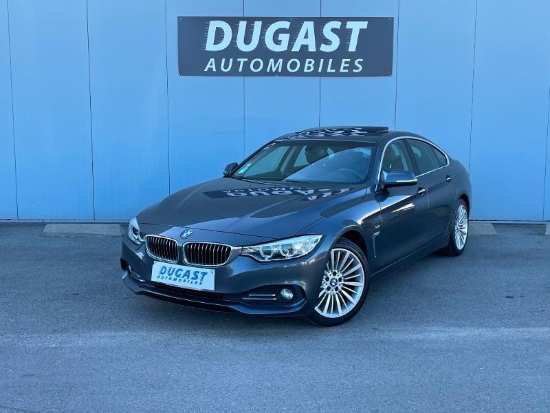 Photo 2 de l'offre de BMW Serie 4 Gran Coupe 420dA 190ch Luxury à 26900€ chez Dugast automobiles