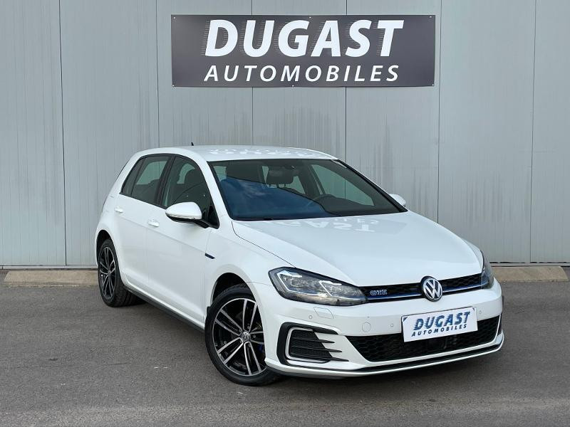Volkswagen Golf 1.4 TSI 204ch Hybride Rechargeable GTE DSG6 Euro6d-T 5p Hybride Blanc Métal Occasion à vendre