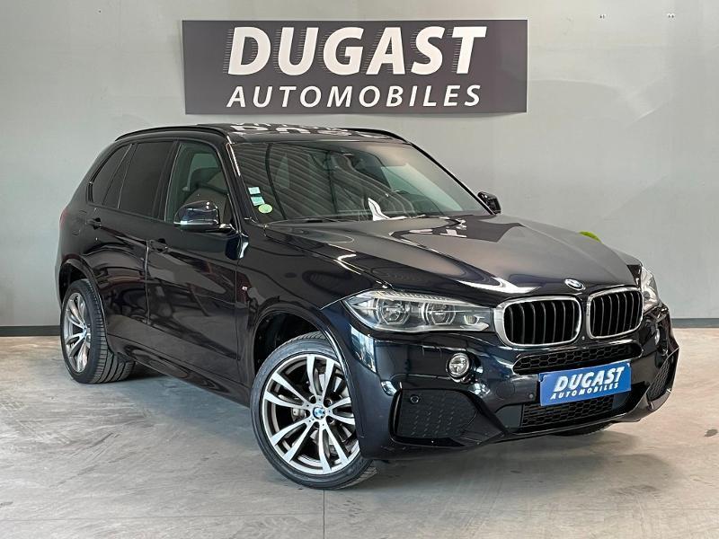 Bmw X5 xDrive30dA 258ch M Sport Diesel Bleu Foncé Métal Occasion à vendre