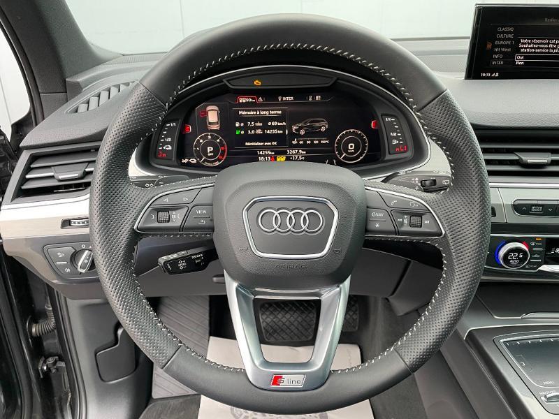 Photo 21 de l'offre de AUDI Q7 3.0 V6 TDI 373ch e-tron S line quattro Tiptronic à 69900€ chez Dugast automobiles