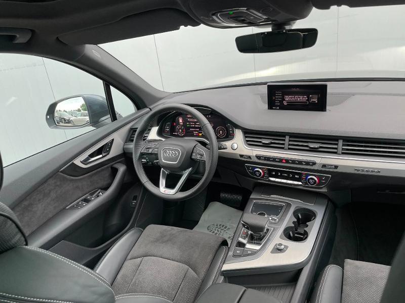 Photo 9 de l'offre de AUDI Q7 3.0 V6 TDI 373ch e-tron S line quattro Tiptronic à 69900€ chez Dugast automobiles