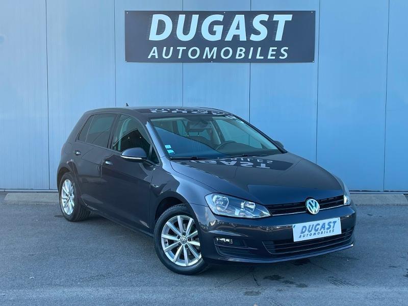 Volkswagen Golf 1.6 TDI 105ch BlueMotion Technology FAP Lounge 5p Diesel bordeaux Occasion à vendre