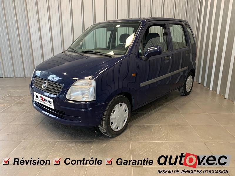 Opel AGILA 1.2 16V CITY Essence BLEU F Occasion à vendre