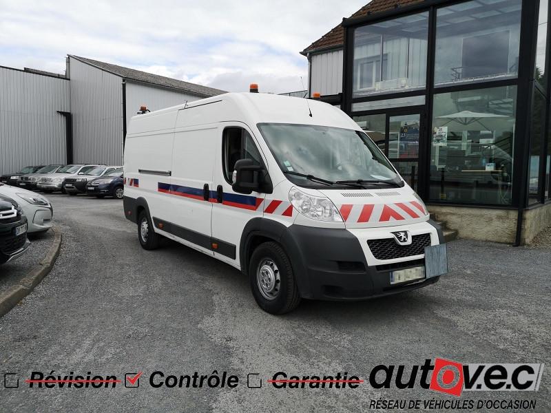 Peugeot BOXER FG 435 L4H2 2.2 HDI 130 FAP PACK CD CLIM Diesel BLANC BANQUISE Occasion à vendre