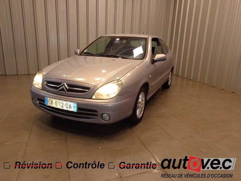 Photo 1 de l'offre de CITROEN XSARA COUPE 2.0 HDI110 VTS 3P à 3990€ chez Auto VEC