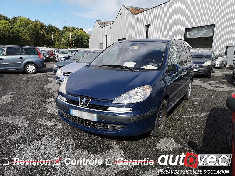 Peugeot 807 2.0 HDI110 ST FAP Diesel BLEU Occasion à vendre
