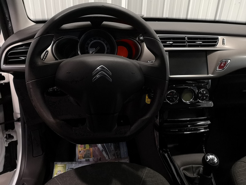 Photo 6 de l'offre de CITROEN C3 STE 1.6 BLUEHDI 100 S&S CONFORT à 7490€ chez Auto VEC