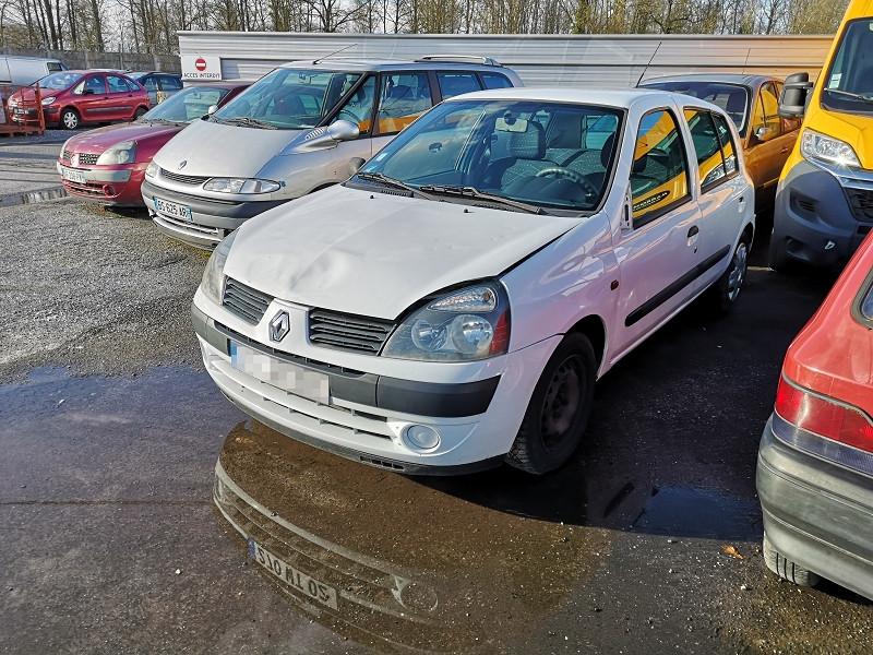 Renault CLIO II 1.5 DCI 65CH AUTHENTIQUE 5P Diesel BLANC Occasion à vendre