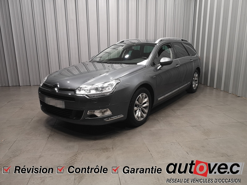 Photo 1 de l'offre de CITROEN C5 TOURER 2.0 HDI160 FAP EXCLUSIVE BVA6 à 7490€ chez Auto VEC