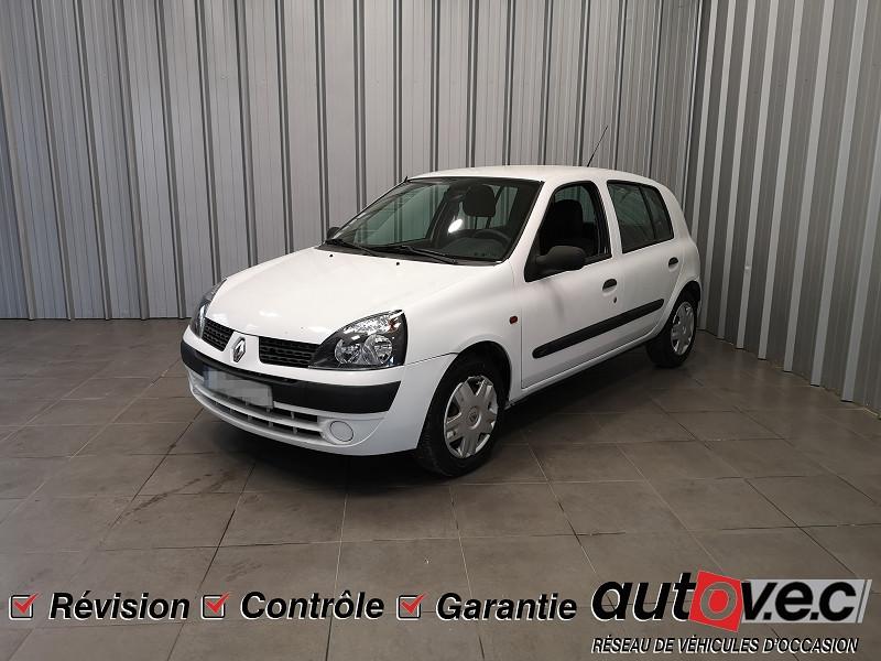 Renault CLIO II CAMPUS 1.2 60CH AUTHENTIQUE 5P Essence BLANC Occasion à vendre