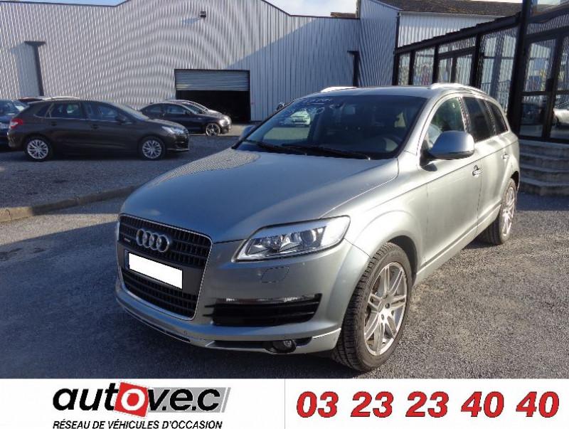 Audi Q7 4.2 FSI AVUS TTRO 7PL Essence GRIS Occasion à vendre