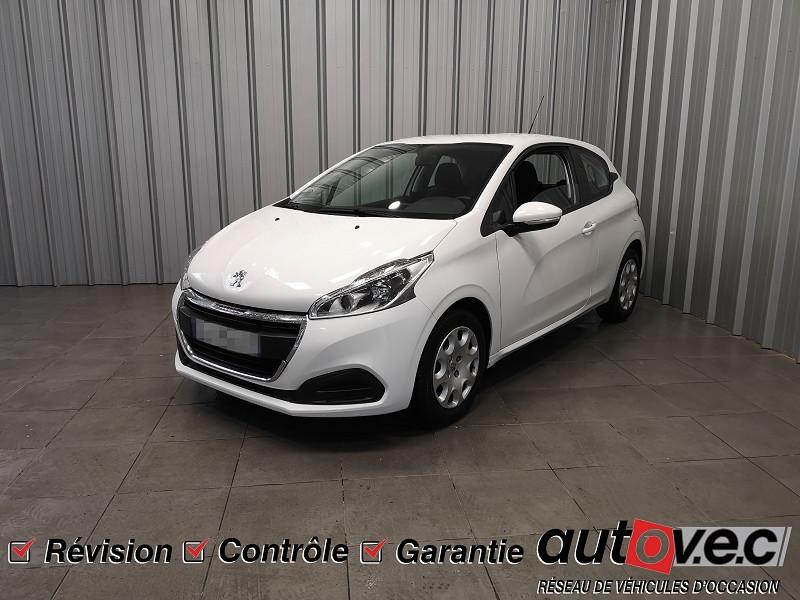 Peugeot 208 1.6 BLUEHDI 75CH ACTIVE 3P Diesel BLANC Occasion à vendre