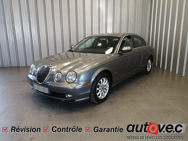 Jaguar S-TYPE 3.0 V6 CLASSIQUE BA Essence GRIS FONCE Occasion à vendre