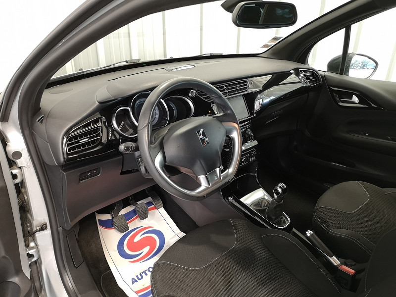 Photo 7 de l'offre de CITROEN DS3 1.6 E-HDI90 SO CHIC 4CV à 9490€ chez Auto VEC