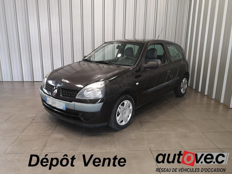 Renault CLIO II 1.2 (1149) 58CH EXPRESSION 3P Essence MARRON Occasion à vendre
