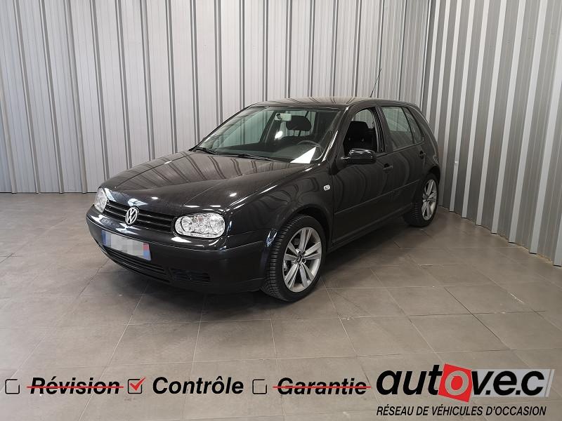 Volkswagen GOLF IV 1.9 TDI 110CH 5P Diesel NOIR Occasion à vendre