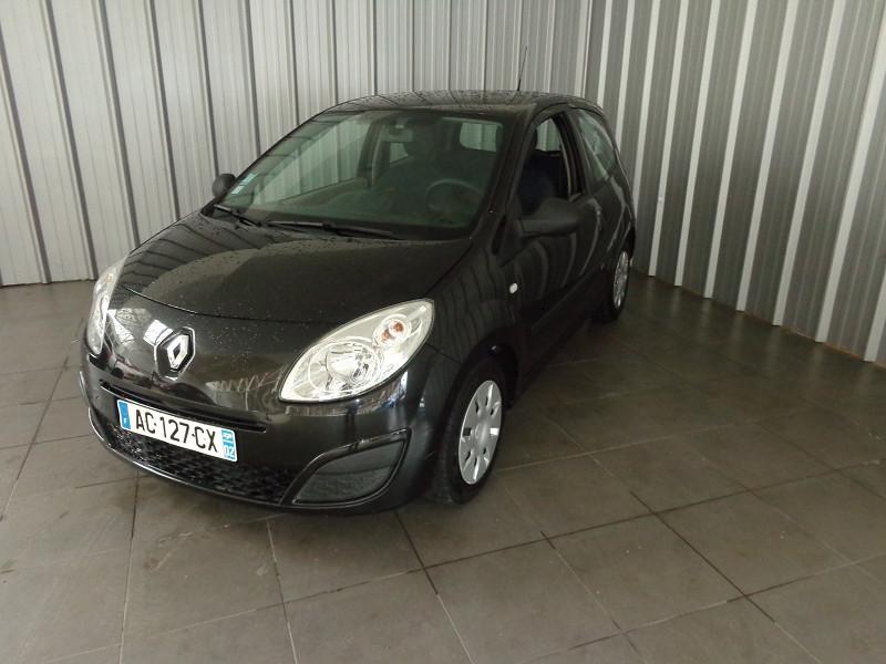 Renault TWINGO 1.2 LEV 16V 75CH AUTHENTIQUE Essence NOIR Occasion à vendre