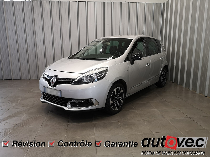Renault SCENIC III 1.5 DCI 110CH ENERGY BOSE ECO² Diesel GRIS C Occasion à vendre