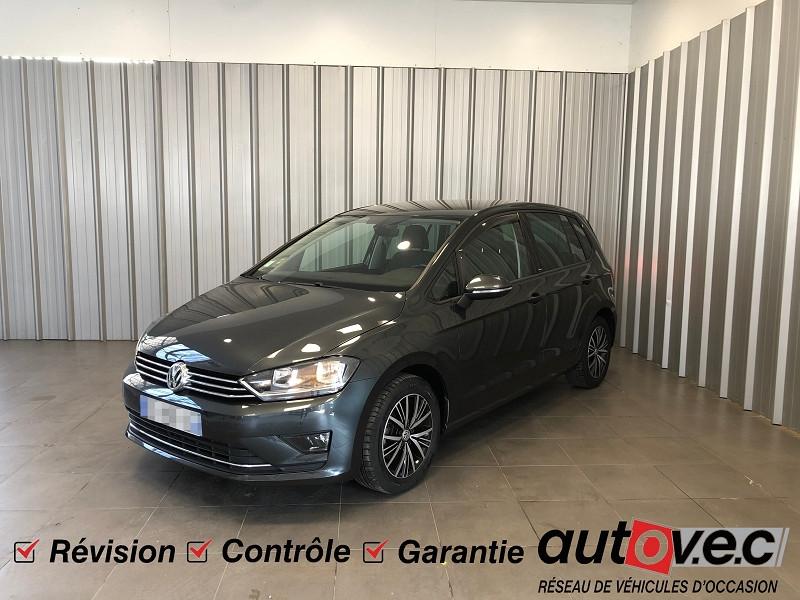 Volkswagen GOLF SPORTSVAN 1.4 TSI 125CH BLUEMOTION TECHNOLOGY ALLSTAR DSG7 Essence GRIS F Occasion à vendre