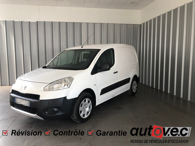 Peugeot PARTNER 120 L1 1.6 HDI FAP 90 PACK CD CLIM Diesel BLANC Occasion à vendre