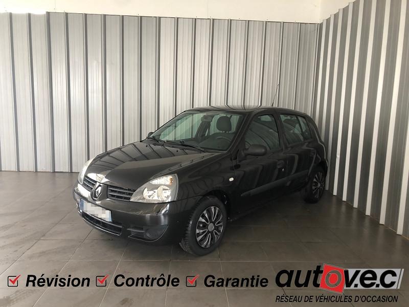 Renault CLIO II CAMPUS 1.2 60CH DYNAMIQUE 5P Essence NOIR Occasion à vendre