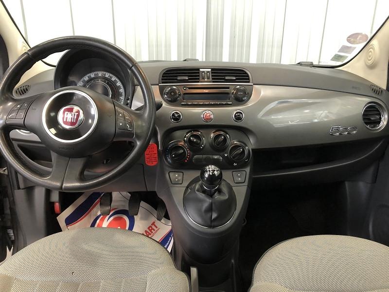 Photo 11 de l'offre de FIAT 500 1.2 8V 69CH LOUNGE à 6490€ chez Auto VEC