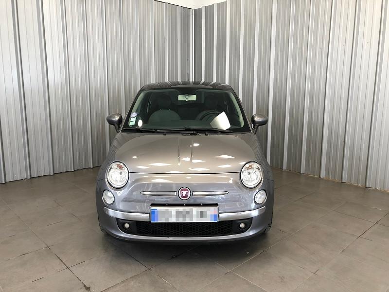 Fiat 500 1.2 8V 69CH LOUNGE Essence GRIS F Occasion à vendre