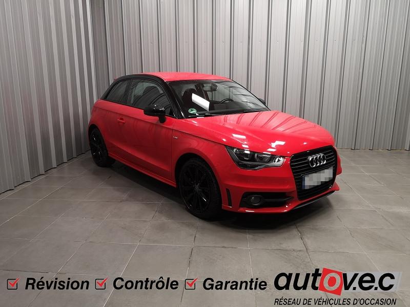 Audi A1 1.4 TFSI 122CH ATTRACTION Essence ROUGE Occasion à vendre