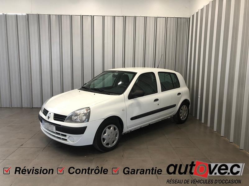 Renault CLIO II 1.5 DCI 65CH CAMPUS 5P Diesel BLANC Occasion à vendre