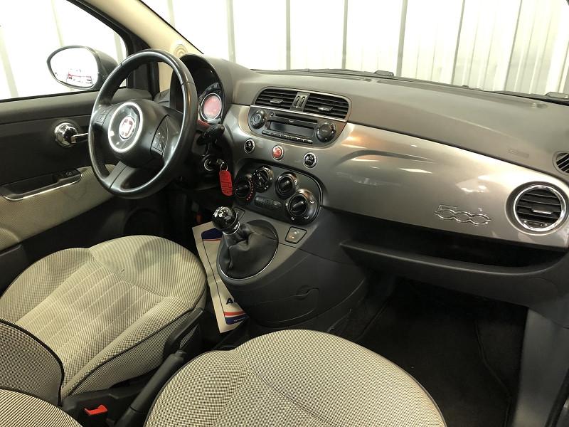 Photo 13 de l'offre de FIAT 500 1.2 8V 69CH LOUNGE à 6490€ chez Auto VEC