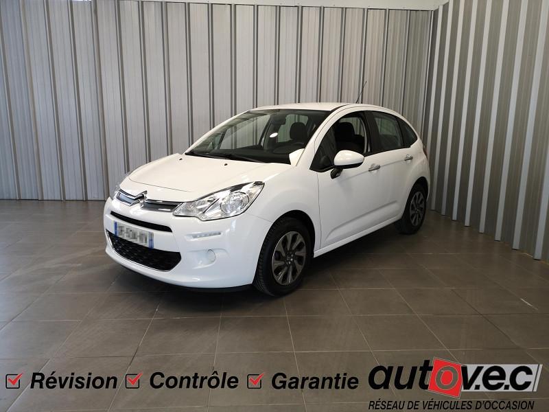Photo 1 de l'offre de CITROEN C3 1.0 VTI PURETECH CONFORT à 7490€ chez Auto VEC