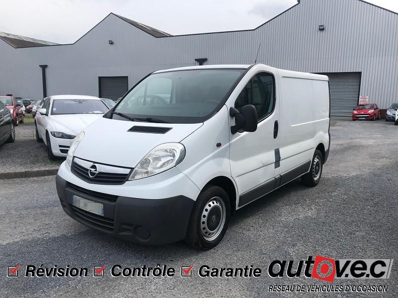 Opel VIVARO TOUR 2.0 CDTI90 COSMO C1 Diesel BLANC Occasion à vendre