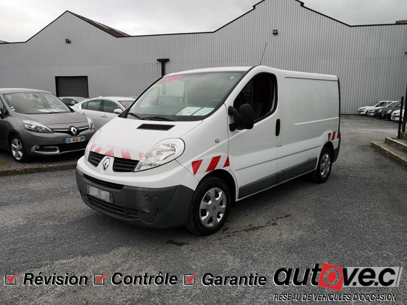 Renault TRAFIC II FG L1H1 1000 2.0 DCI 90CH GRAND CONFORT Diesel BLANC Occasion à vendre