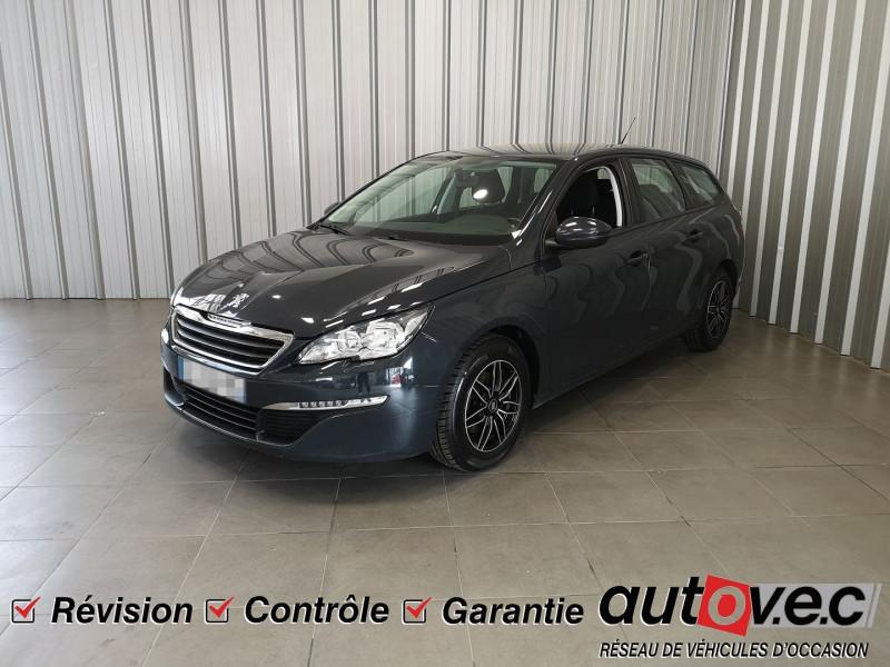 Peugeot 308 SW 1.6 BLUEHDI 100CH ACCESS BUSINESS S&S Diesel GRIS Occasion à vendre