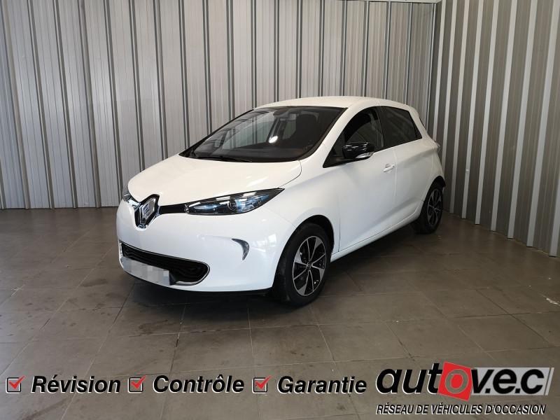 Renault ZOE INTENS CHARGE NORMALE R90 Electrique BLANC Occasion à vendre