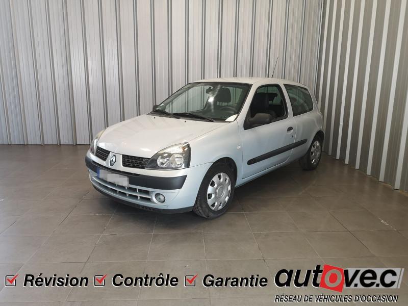 Renault CLIO II 1.5 DCI 65CH CONFORT PACK CLIM AUTHENTIQUE 3P Diesel GRIS C Occasion à vendre