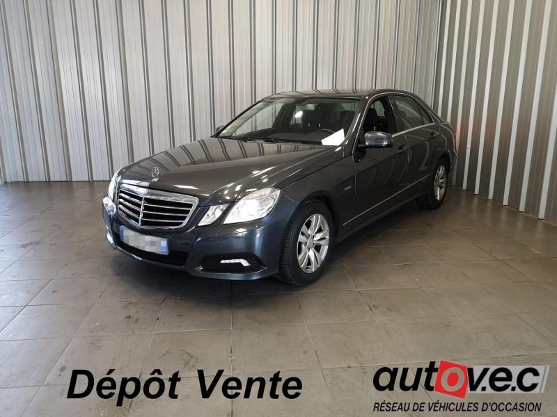 Mercedes-Benz CLASSE E (W212) 220 CDI BE AVANTGARDE EXECUTIVE BA Diesel GRIS F Occasion à vendre