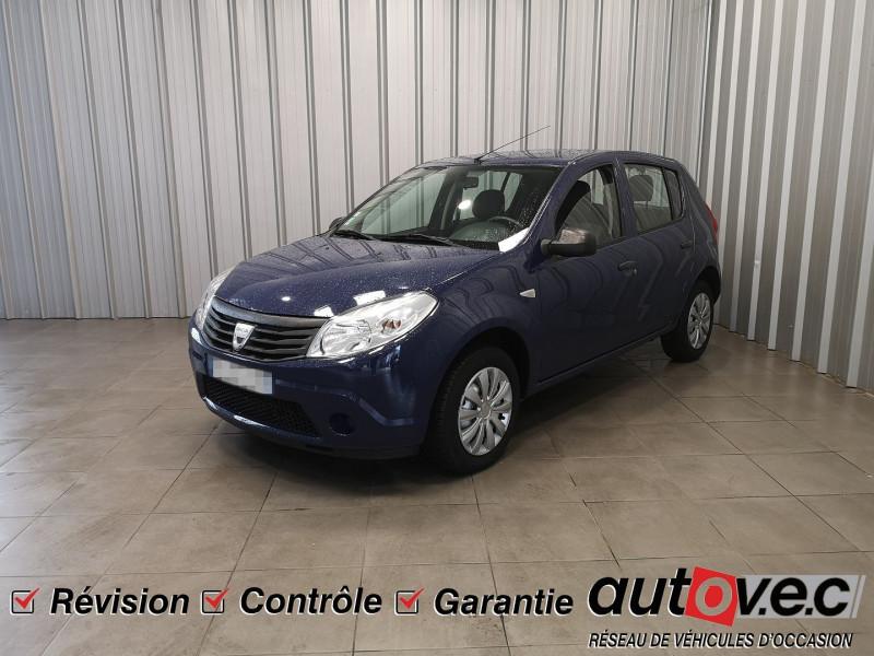 Dacia SANDERO 1.4 MPI 75CH AMBIANCE Essence BLEU F Occasion à vendre