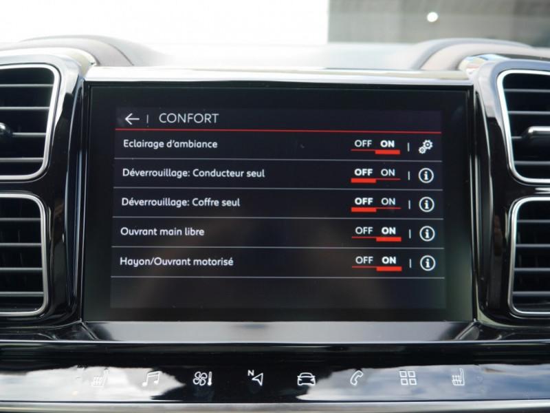 Photo 15 de l'offre de CITROEN C5 AIRCROSS BLUEHDI 180CH S&S SHINE EAT8 - 26 % à 31995€ chez Automobiles 25