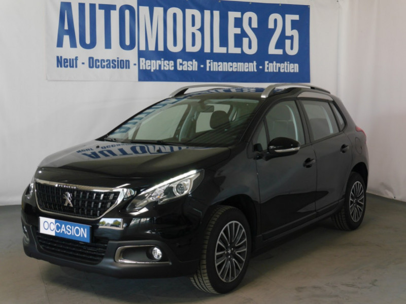 Peugeot 2008 1.2 PURETECH 82CH  E6.C ACTIVE S&S Essence NOIR PERLA Occasion à vendre