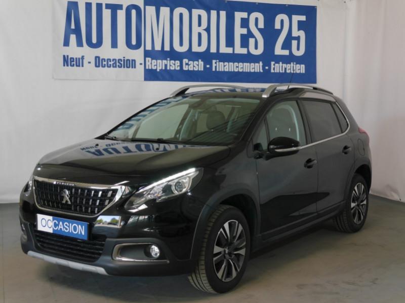 Peugeot 2008 1.2 PURETECH 82CH E6.C ALLURE Essence NOIR PERLA Occasion à vendre