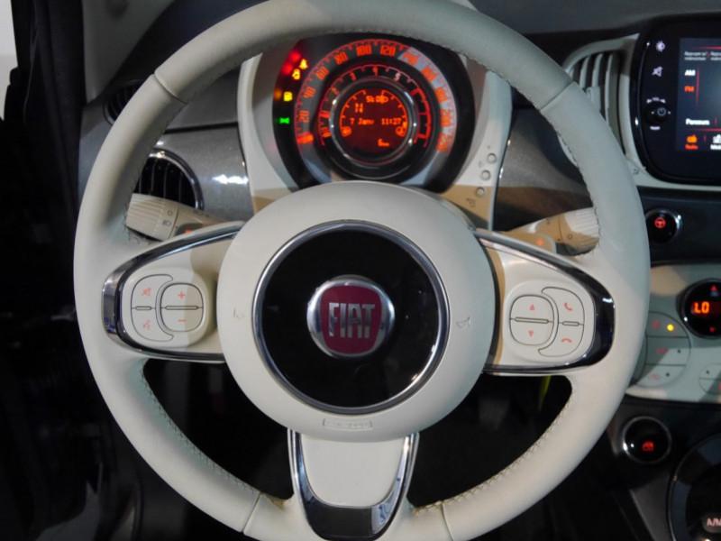 Photo 5 de l'offre de FIAT 500 1.2 8V 69CH S&S LOUNGE  DUALOGIC - 27 % à 13680€ chez Automobiles 25