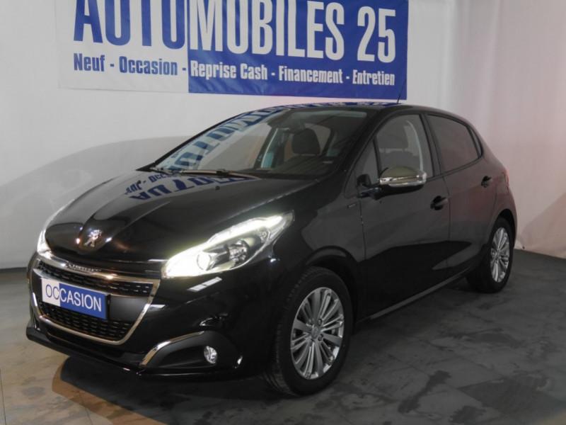 Peugeot 208 1.2 PURETECH 82CH E6.2 EVAP SIGNATURE 5P Essence NOIR PERLA Occasion à vendre