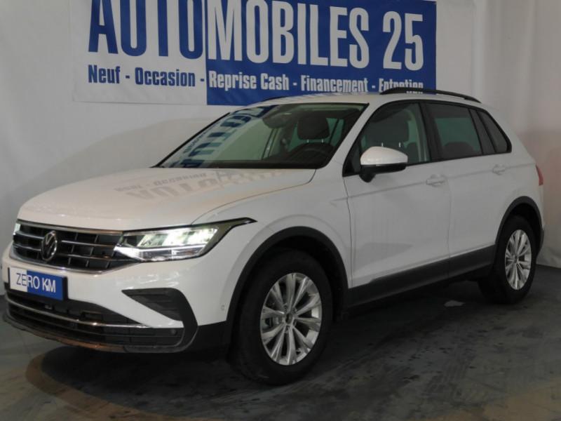 Volkswagen TIGUAN 1.5 TSI 150CH LIFE DSG7 - 20 % Essence BLANC PUR Neuf à vendre