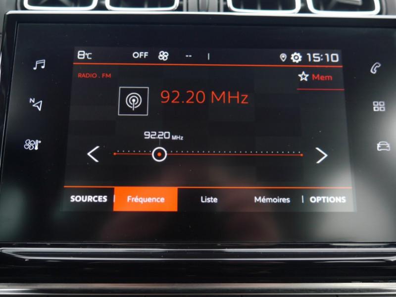 Photo 6 de l'offre de CITROEN C3 1.2 PURETECH 110CH S&S SHINE EAT6 à 16480€ chez Automobiles 25