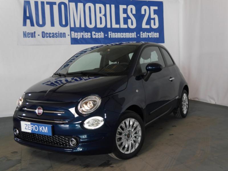 Fiat 500 1.2 8V 69CH S&S LOUNGE  DUALOGIC - 25 % Hybride EPIC BLUE Neuf à vendre